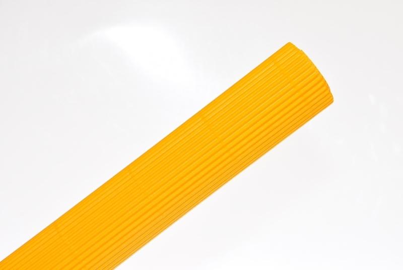 Tektura falista żółta 50x70cm w rolce Schemat
