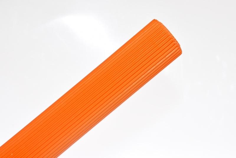 Tektura falista pomarańcz 50x70cm w rolce Schemat
