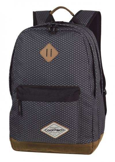 Plecak młodzieżowy Coolpack Scout Dark GreyNet A122