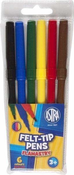 Pisaki 6 kolorów. Astra