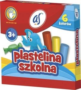 Plastelina AS 6 kolorów