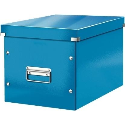 Pudło uniwersalne Leitz C&S rozmiar L niebieskie