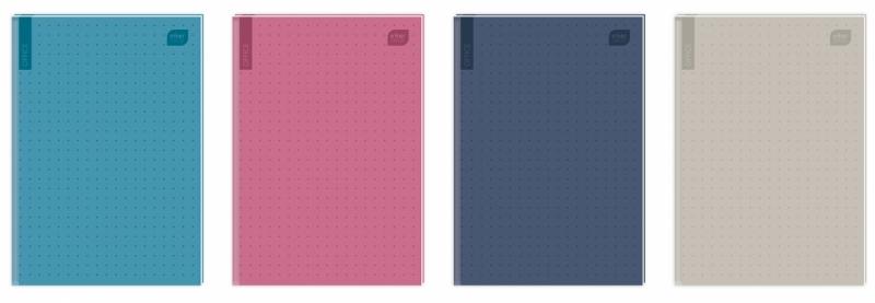 Brulion A5 96k kratka Office Mat+UV Interdruk
