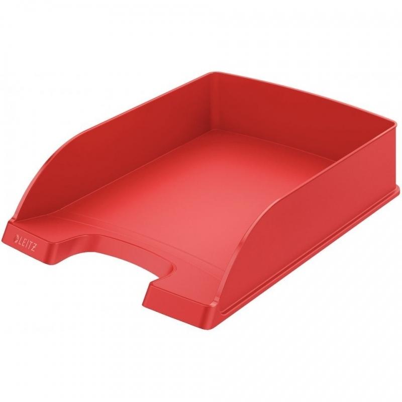 Półka na dokumenty Plus czerwona Leitz