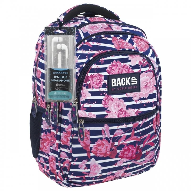 Plecak szkolny młodzieżowy BackUP model B34