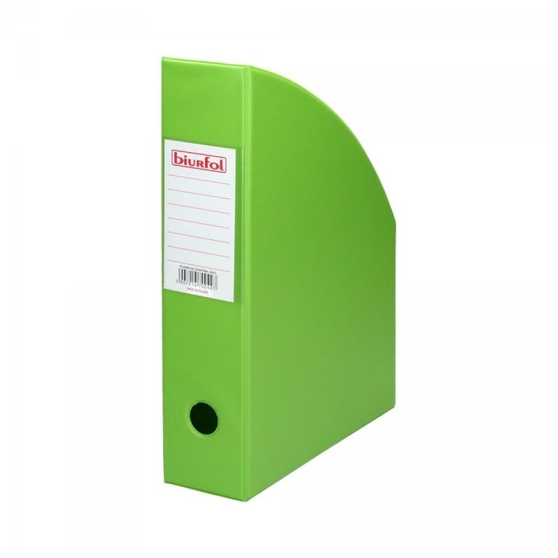 Pojemnik na czasopisma 7cm zielony Biurfol