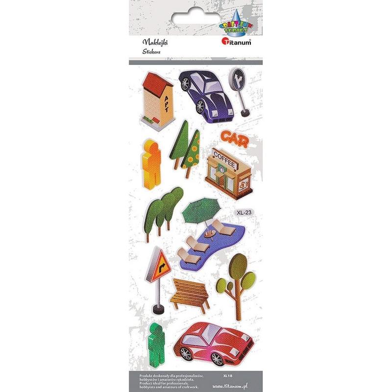 Naklejki dekoracyjne car xl23