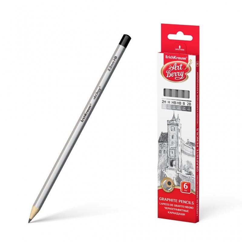 Ołówek zestaw Art Berry 6szt