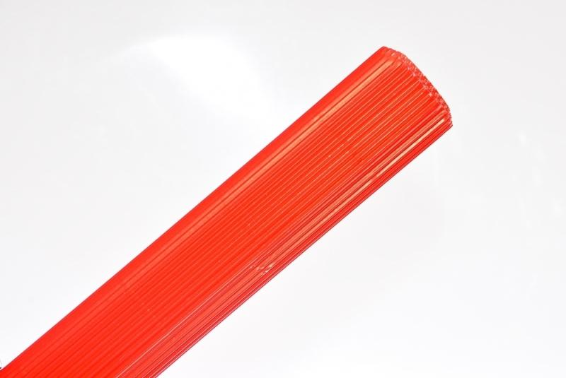 Tektura falista czerwona 50x70cm w rolce Schemat