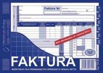 Faktura VAT A5 nowe stawki VAT