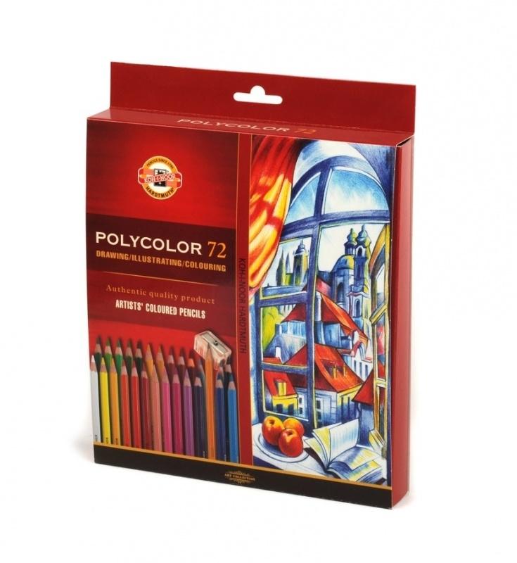 Kredki ołówkowe 72 kolory Polycolor Koh-I-Noor