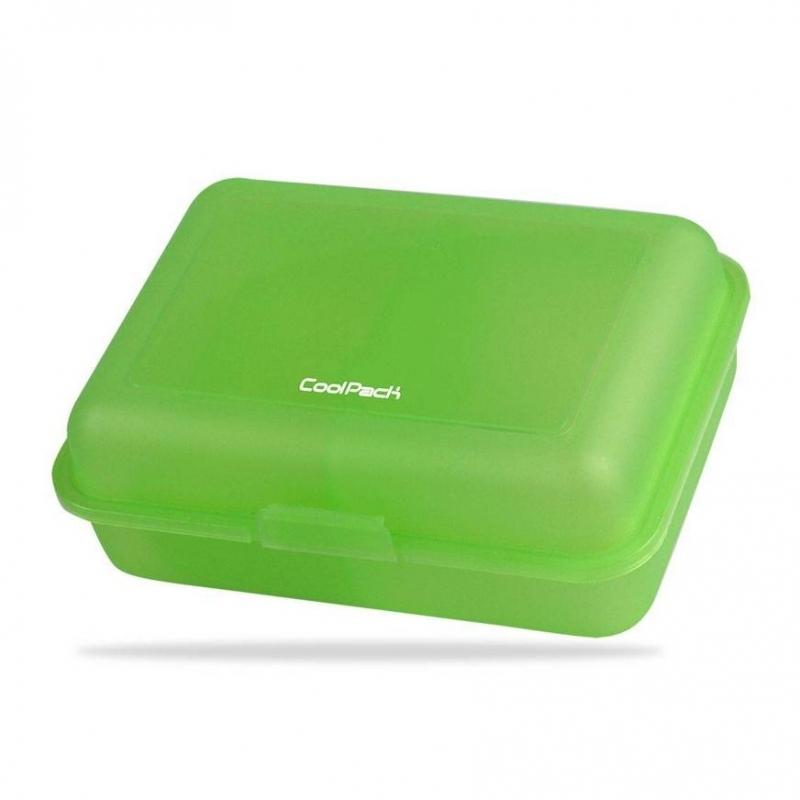 Śniadaniówka Coolpack Frozen transpare.zielona