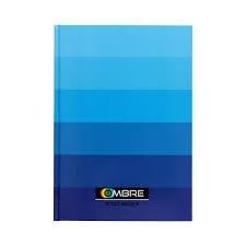 Brulion A4/96 Ombre niebieski TOP