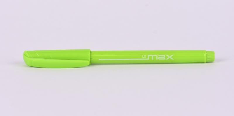 Długopis Max 1mm zielony  Rystor