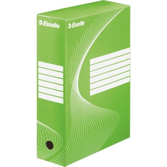 Pudełka archiwizacyjne ESSELTE BOXY 100mm zielone