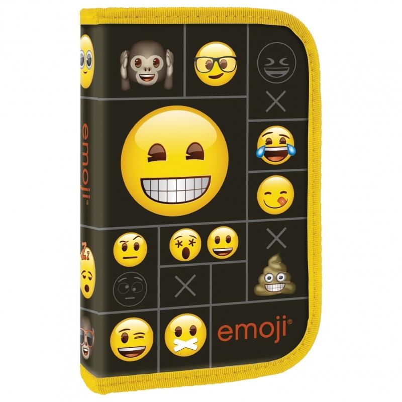 Piórnik jednokomorowy bez wyposażenia Emoji 11