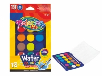 Farby akwarelowe 18 kolorów Colorino