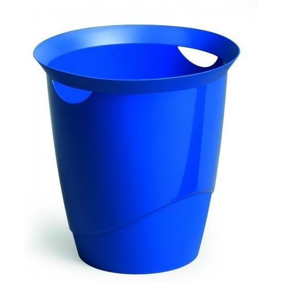 Kosz na śmieci 16l TREND niebieski  DURABLE