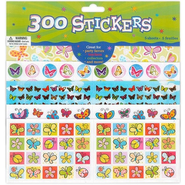 Naklejki do dekoracji z papieru motyle A`300