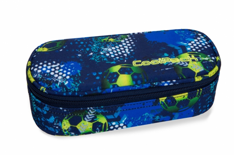Saszetka na zamek Coolpack Campus Football Blue
