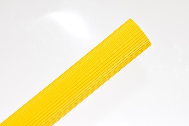 Tektura falista żółta neon 50x70cm w rolce Schemat