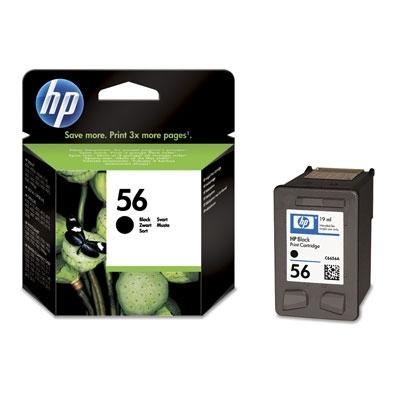 HP nr 56 czarny 22ml C6656AE