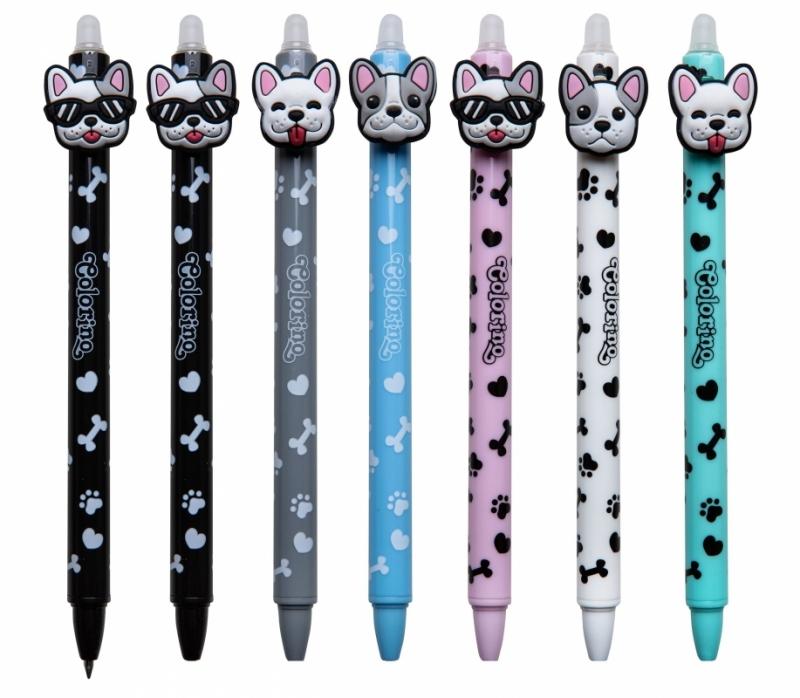 Długopis wymazywalny Dogs Colorino