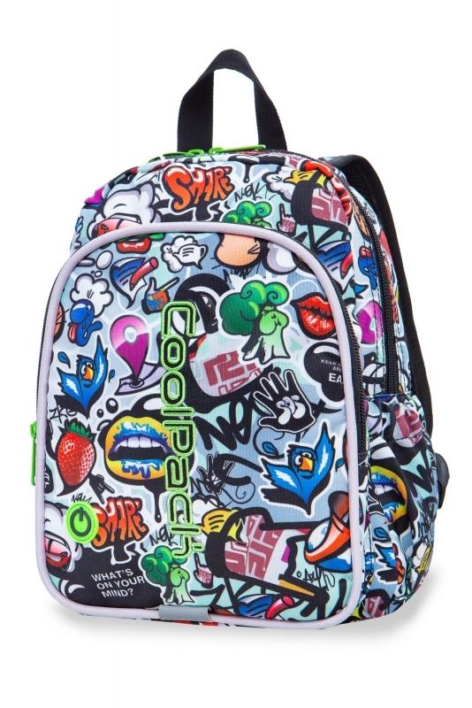 Plecak dziecięcy Coolpack Bobby Graffiti Led