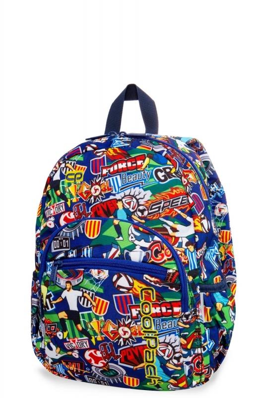 Plcak dziecięcy mini Coolpack Football Cartooon
