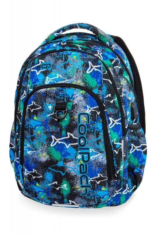 Plecak młodzieżowy Coolpack Strike L Sharks