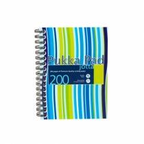 Kołozeszyt A5/200 kratka  Pukka Pad Jotta Stripe niebieski