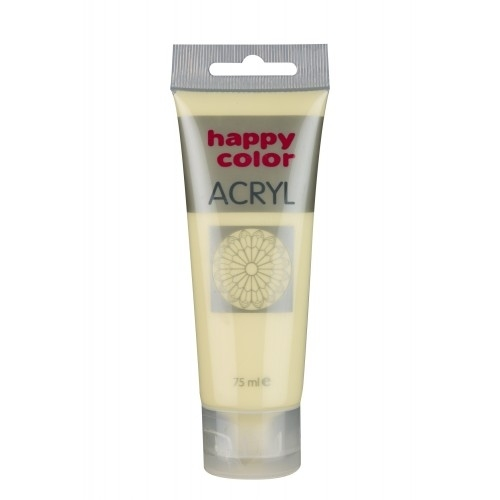 Farba akrylowa kość słoniowa 75 ml Happy  Color
