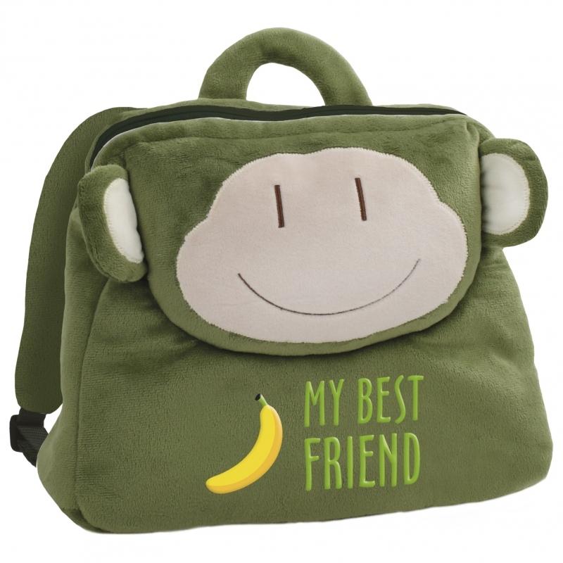 Plecak pluszowy Małpka