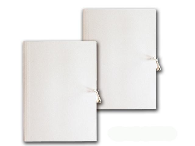 Teczka wiązana kartonowa A4 biała 250g