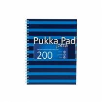 Kołozeszyt A5/200 kratka Pukka Pad Jotta Navy niebieski