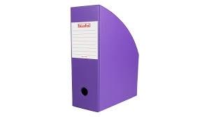 Pojemnik na czasopisma 10cm fioletowy Biurfol