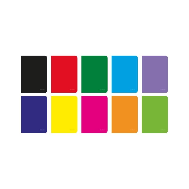 Zeszyt A5 60k kratka Rainbow Herlitz