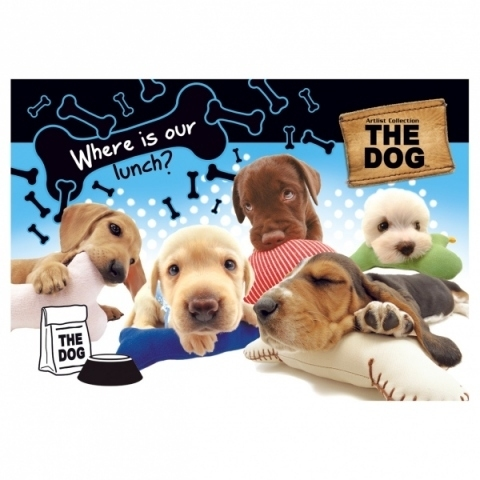 Podkład oklejany na biurko THE DOG