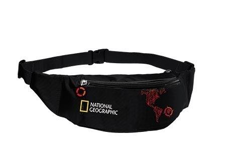 Saszetka nerka National Geographic Compas czerwona