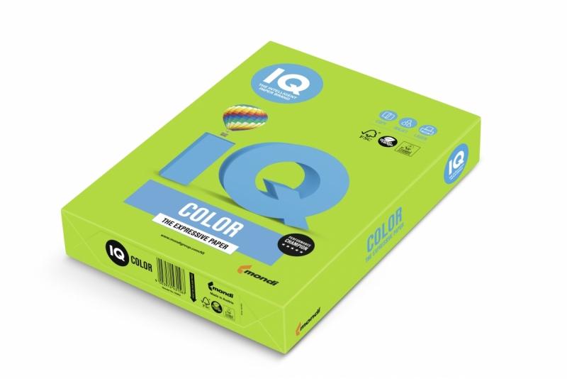 Papier ksero A4/500 80g IQ Color zielony