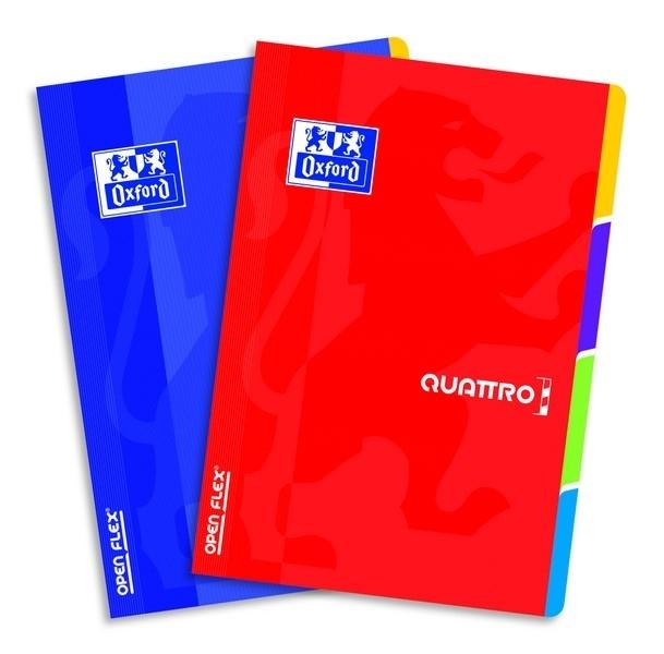 Zeszyt A4 60k. kratka 90g PP Open Flex Quattro
