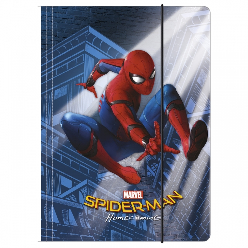 Teczka na gumkę A4 Spider-Man Homecoming