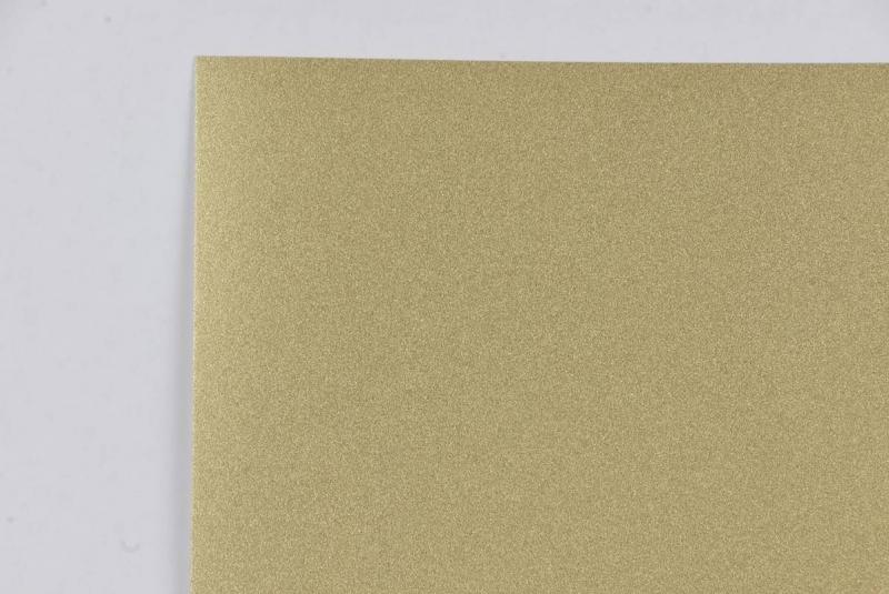 Brystol A2 220g brokat złoty Aurum