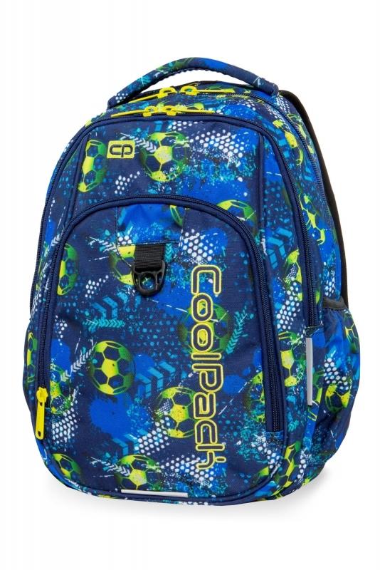 Plecak młodzieżowy Coolpack Strike L Football Blue