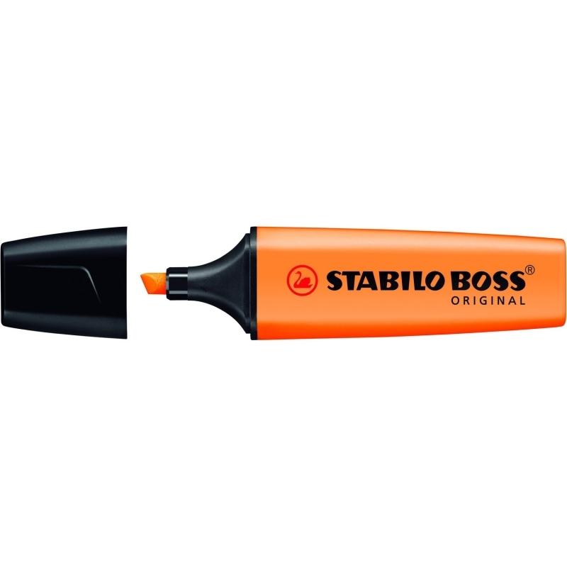 Zakreślacz fluorescencencyjny Stabilo Boss pomarańczowy