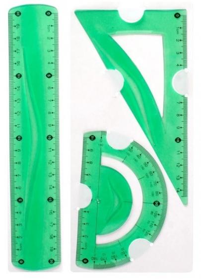 Zestaw geometryczny elastyczny 3 el. Tetis