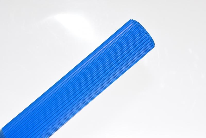 Tektura falista niebieska 50x70cm w rolce Schemat