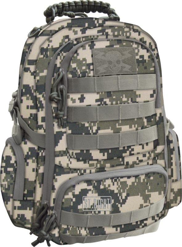 Plecak młodzieżowy St.Right Military Grey Digital Cam