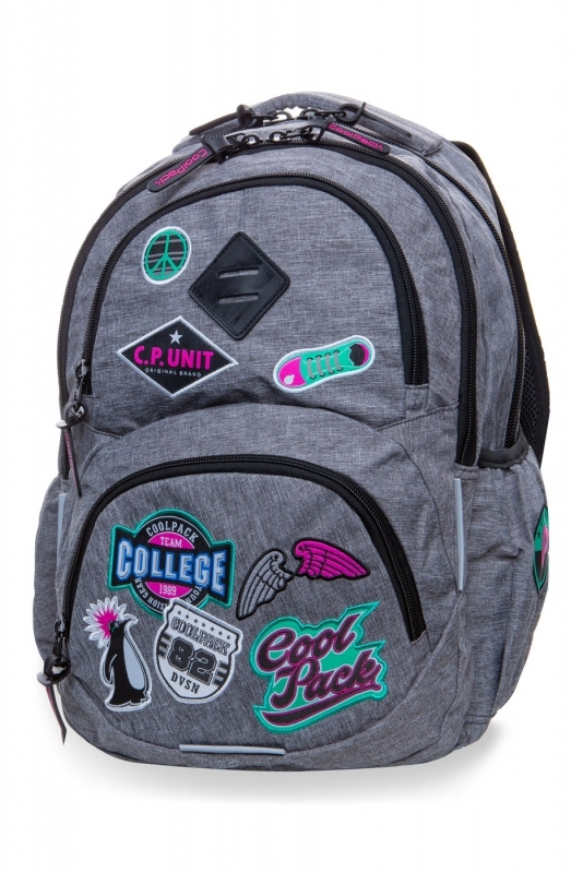 Plecak młodzieżowy CoolPack Dart L Camo Grey