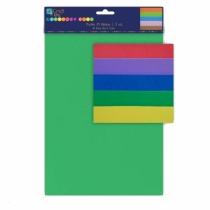 Arkusze piankowe A4 5 kolorów KSPI-001 Dalprint